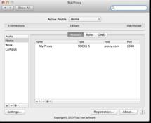 Imagen MacProxy 3.0.3