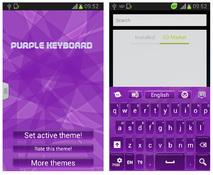Imagen Purple Keyboard Theme 1.7