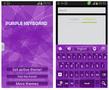 Purple Keyboard Theme - Imagen 1