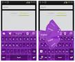 Purple Keyboard Theme - Imagen 3