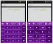 Purple Keyboard Theme - Imagen 2