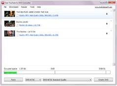 Imagen Free YouTube to DVD Converter 5.0.9