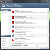 Imagen Argente - Uninstall Manager 2.5.0.7