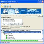 Imagen Advanced Port Scanner 1.3