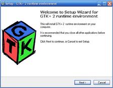 Imagen GTK+ 2 Runtime Environment 2.22