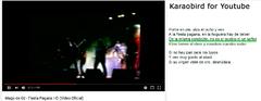 Imagen Karaobird for Youtube 1.0 para Firefox