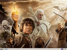 Imagen Lord of The Rings Theme's + Desktop Themes 1.89