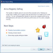 Imagen Ainvo Registry Defrag Portable 3.2.5.922