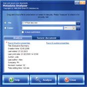 Imagen Metadata Analyzer 2.2