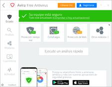 Imagen Avira Free Antivirus 2018