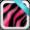 Neon Zebra Keyboard